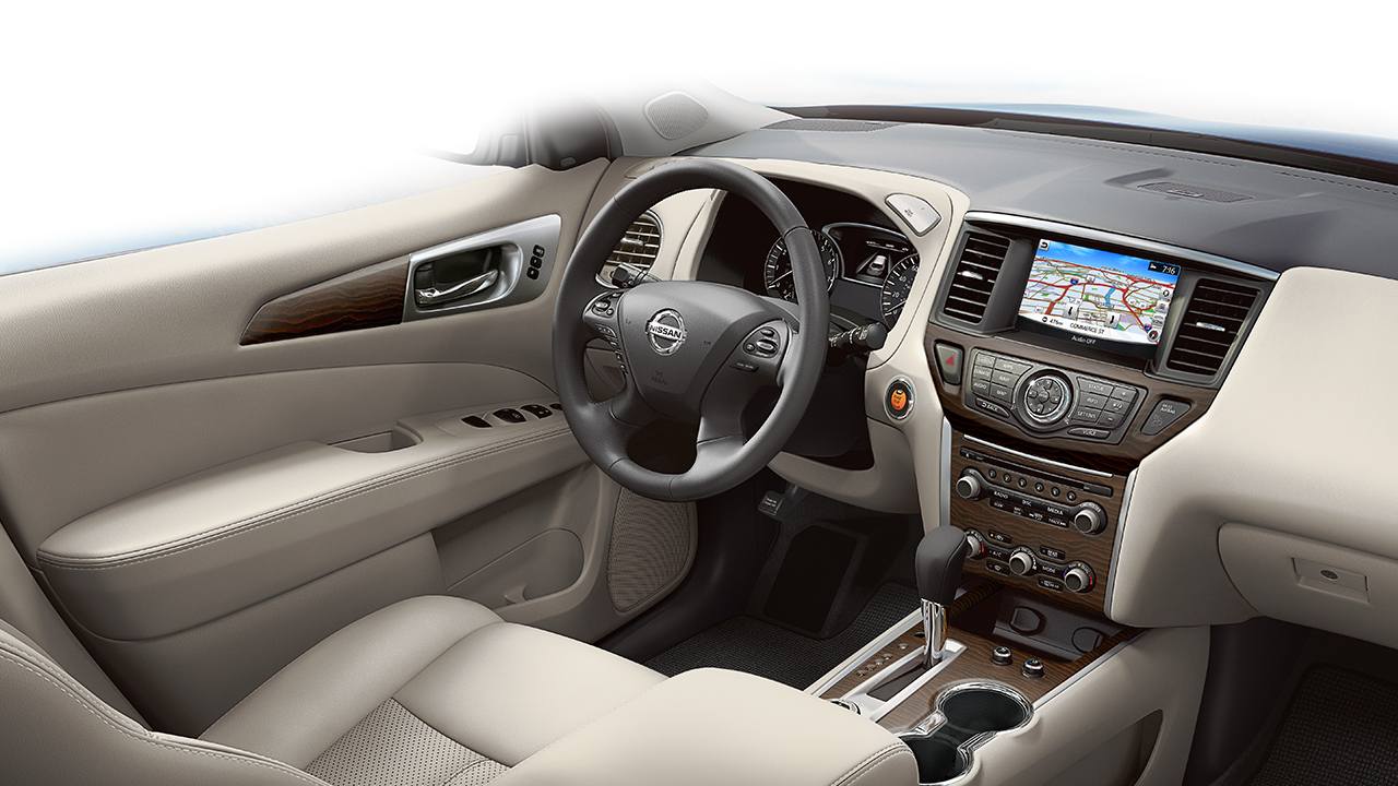 Interior of the 2017 Pathfinder