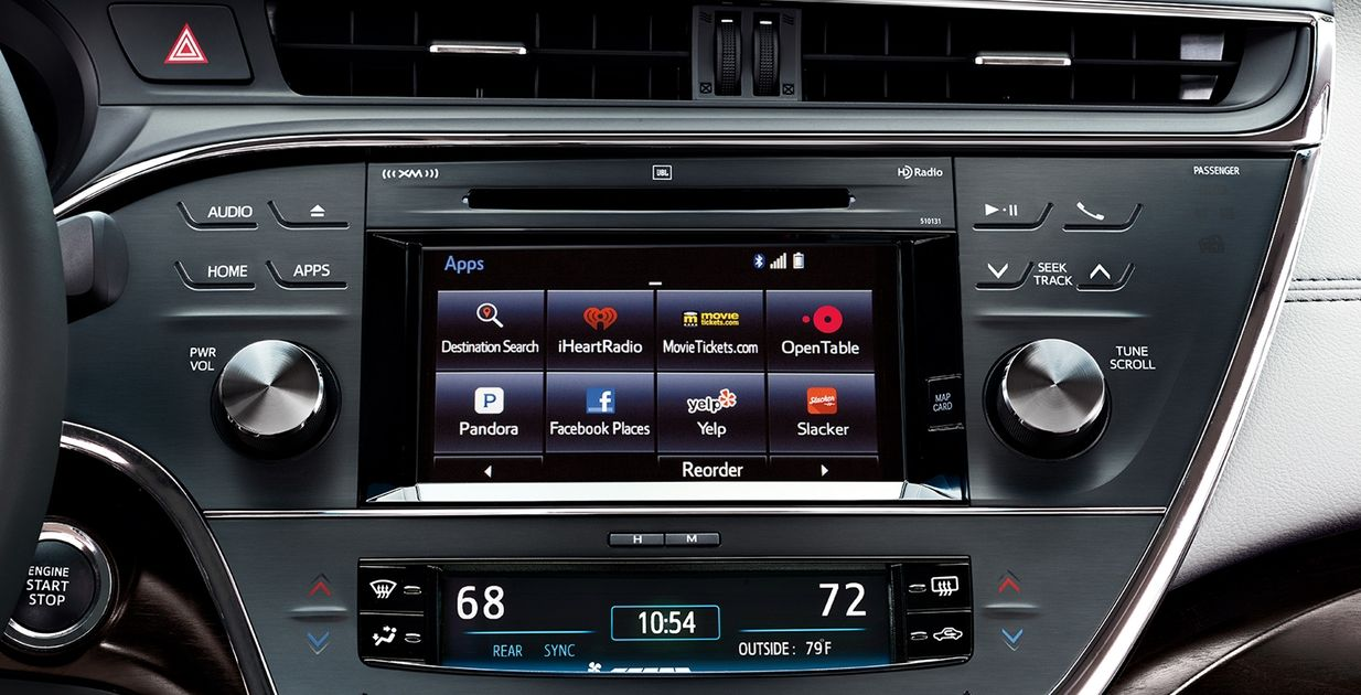 Toyota Avalon Entune™ Audio Plus with the Connected Navigation App
