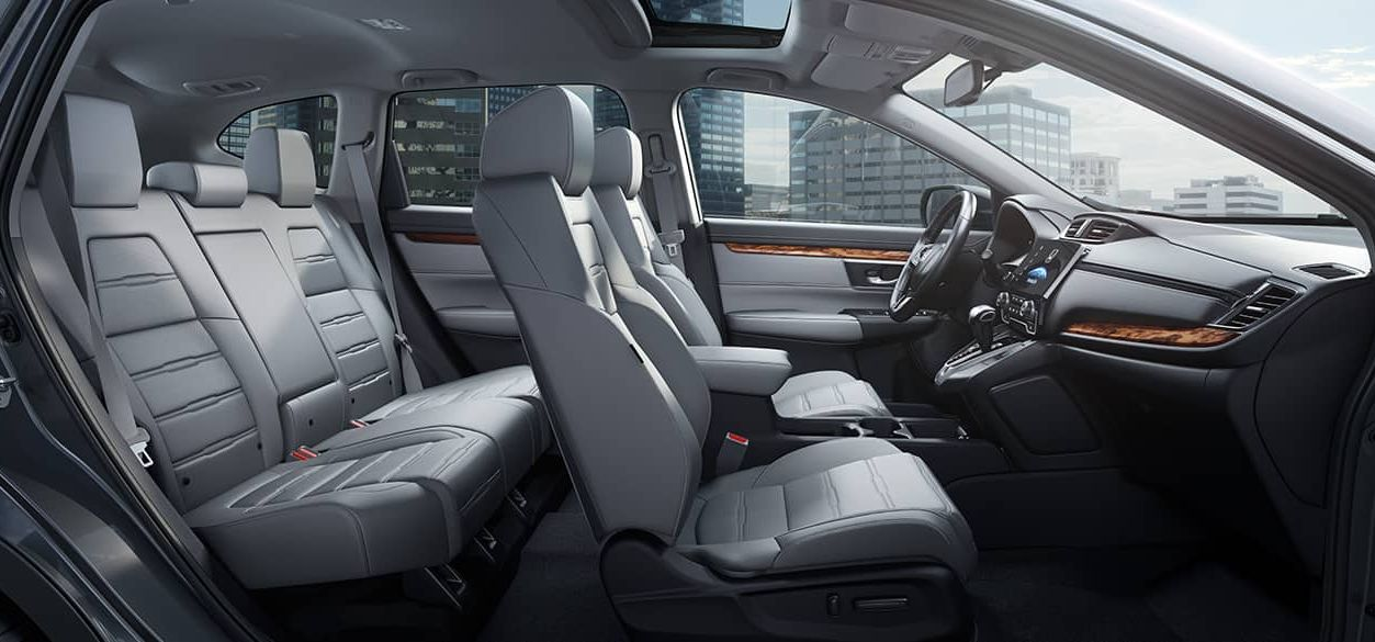 Interior of the CR-V Touring