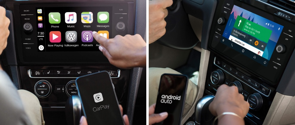 Apple CarPlay™ y Android Auto™ en el Jetta 2017