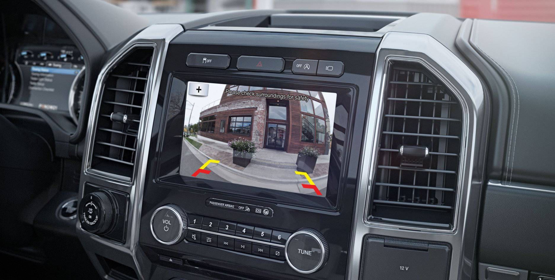 Standard Rear-View Camera in the 2018 Expedition