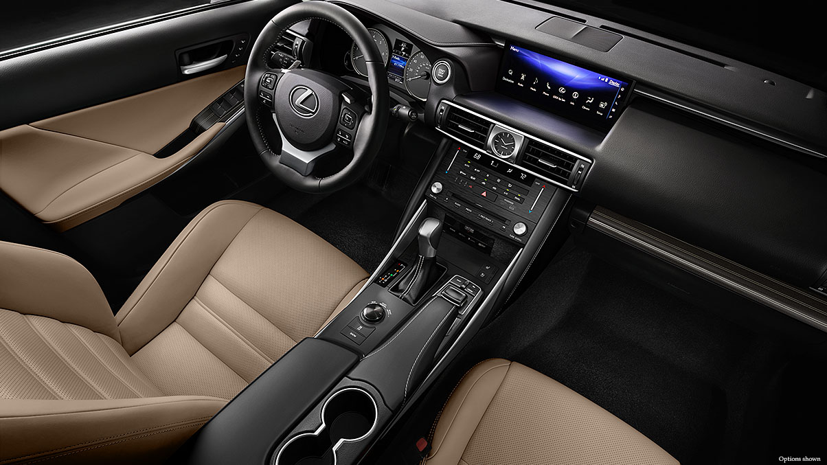 Interior of the IS 300