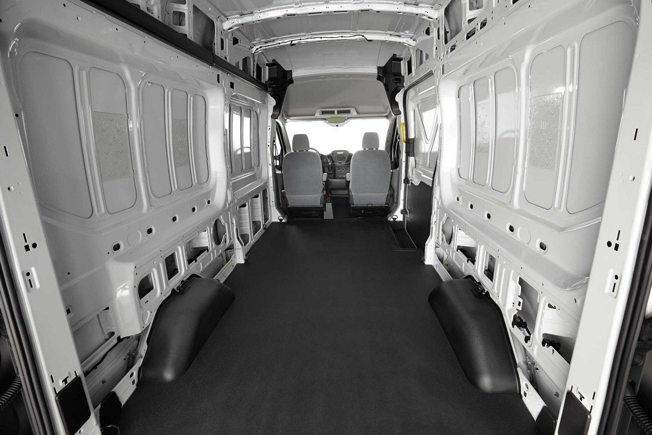 Spacious Interior of the 2017 Ford Transit