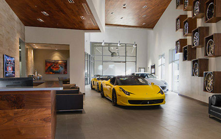 Customer Lobby Used Car Dealer Dallas TX