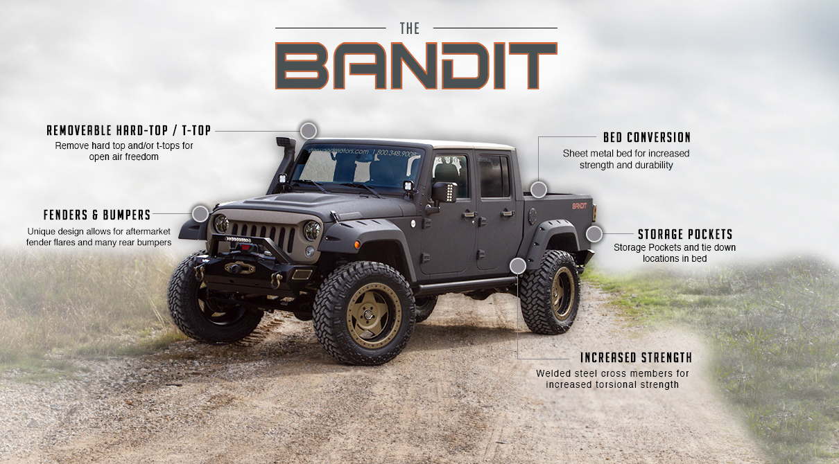 Jeep Bandit Custom Project Dallas Custom Shop