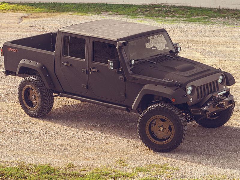 Bandit Lifted Jeep Dallas