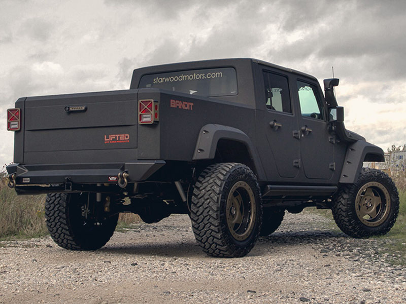 Bandit Lifted Jeep Wrangler Dallas
