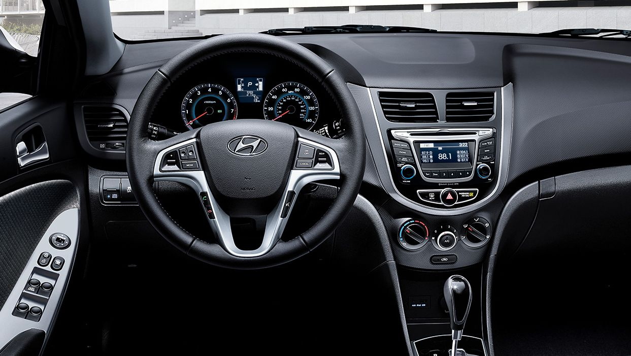 Hyundai Accent Forward-Thinking Cabin