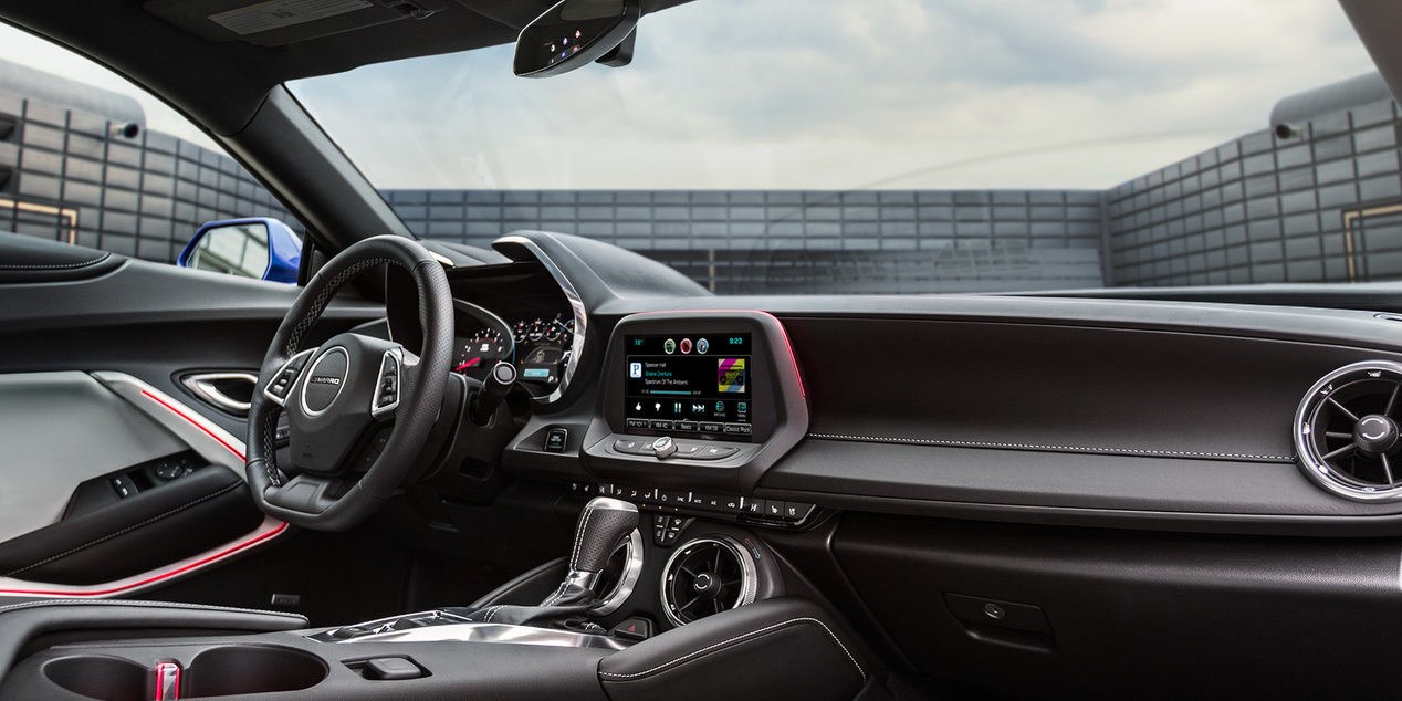 2017 Camaro Interior with Optional Features