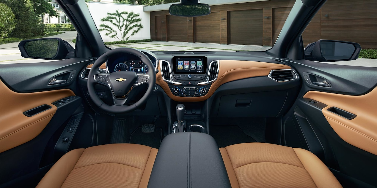2018 Equinox Interior with Optional Amenities