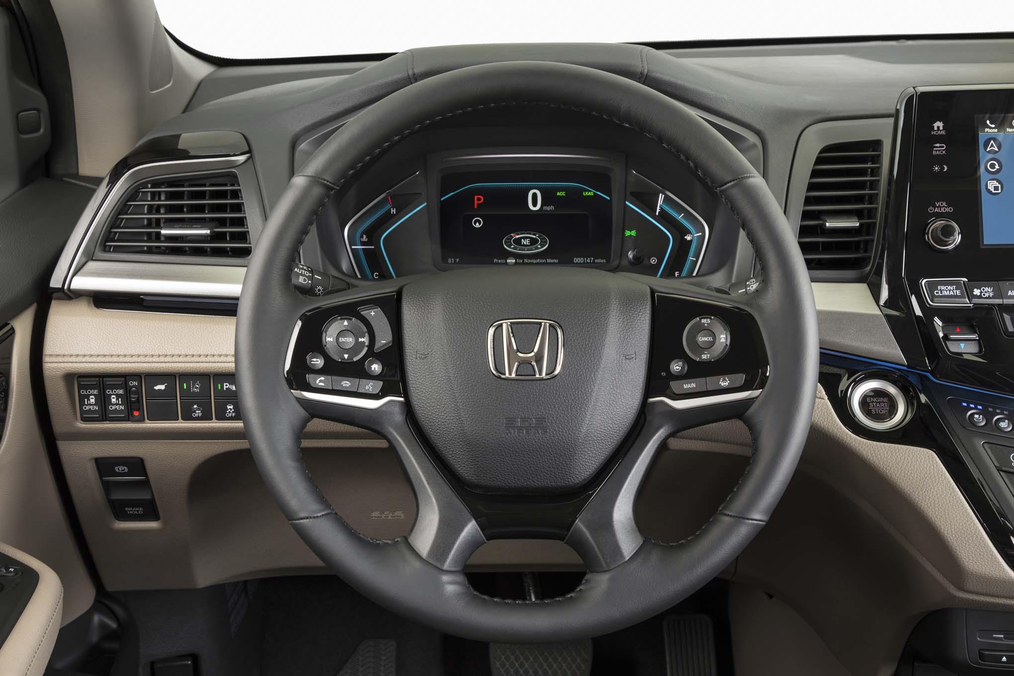 2018 honda odyssey review ball honda new used cars trucks vans for sale 2018 honda odyssey touring elite interior