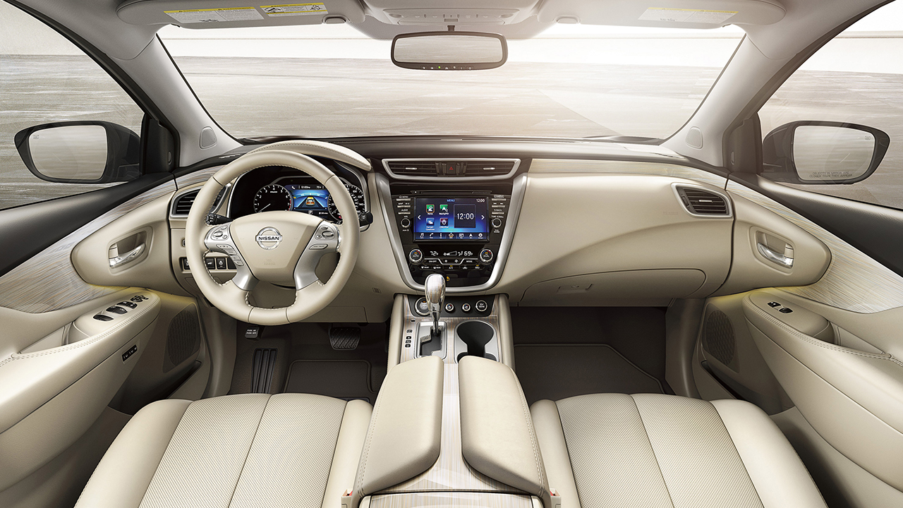 2017 Murano Interior in Cashmere Leather
