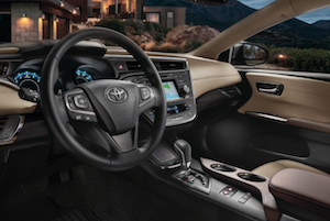 2018 Toyota Avalon interior