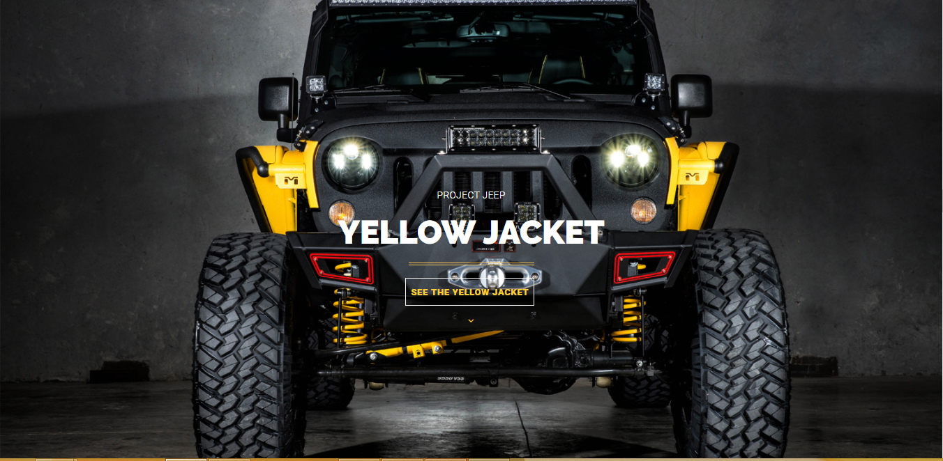 Yellow Jacket Custom Jeep Dallas