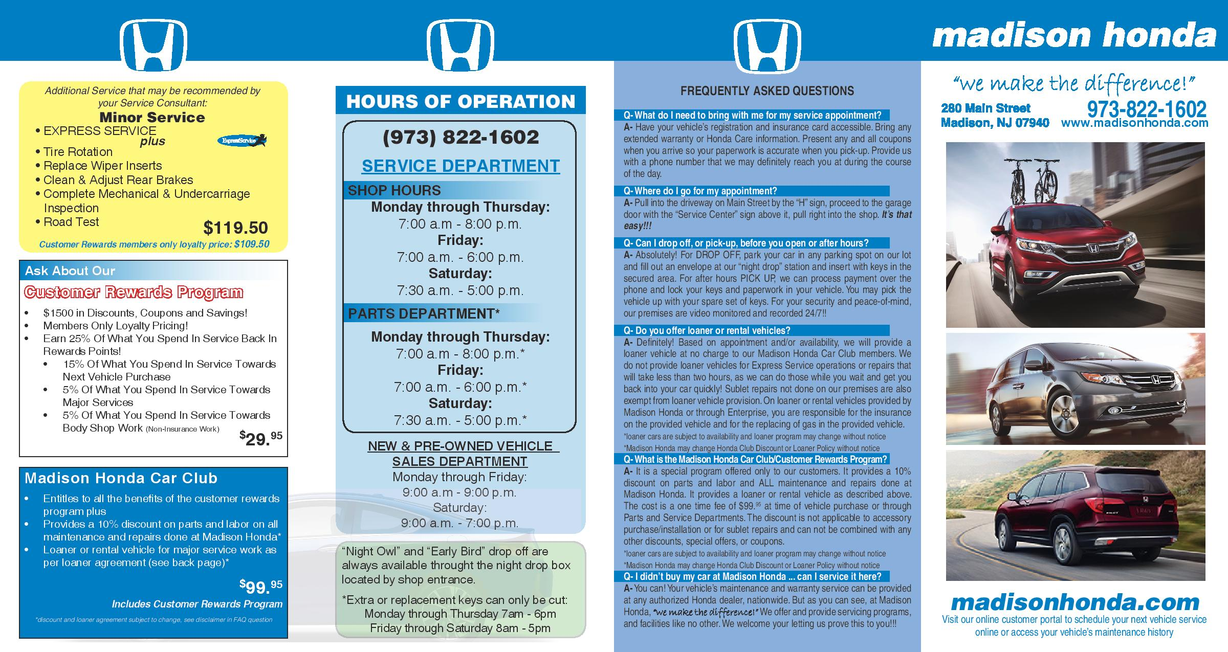 Vic Bailey Honda Service Coupons Www Topsimages Com