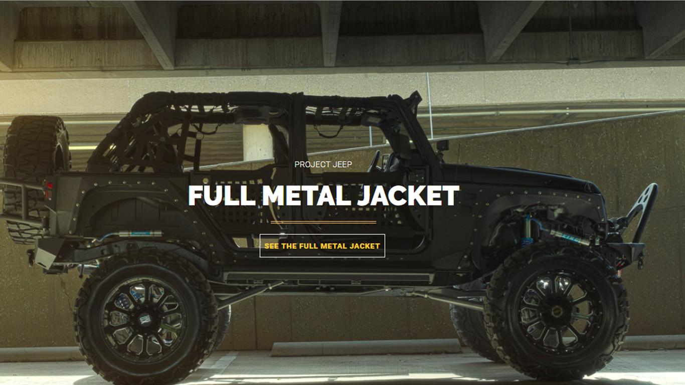 Full Matel Jacket