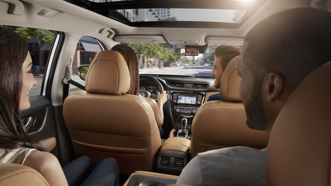 A Comfortable Fit for Everyone in the Nissan Rogue!