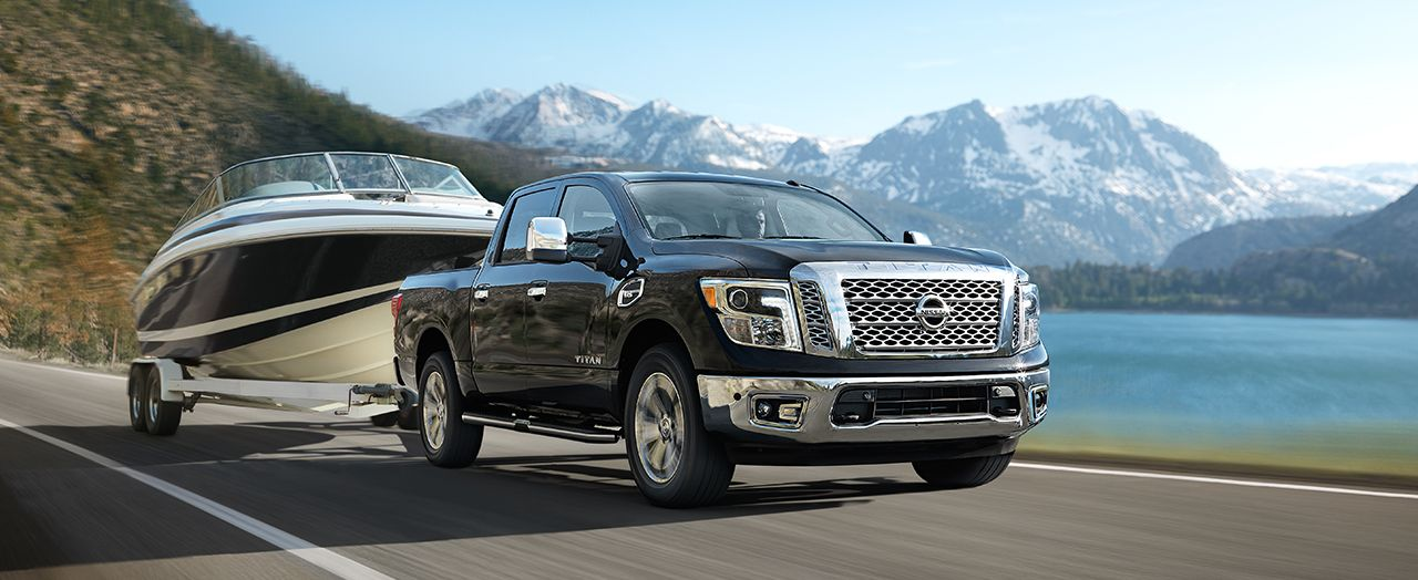 2017 Nissan Titan vs 2017 Ford F-150 in Marlborough, MA