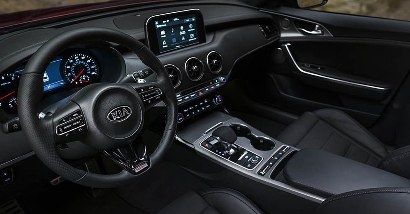Well-Appointed Interior of the 2018 Stinger