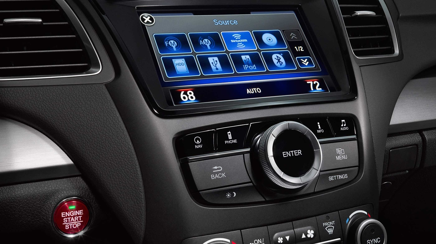 8-inch Touchscreen in the RDX