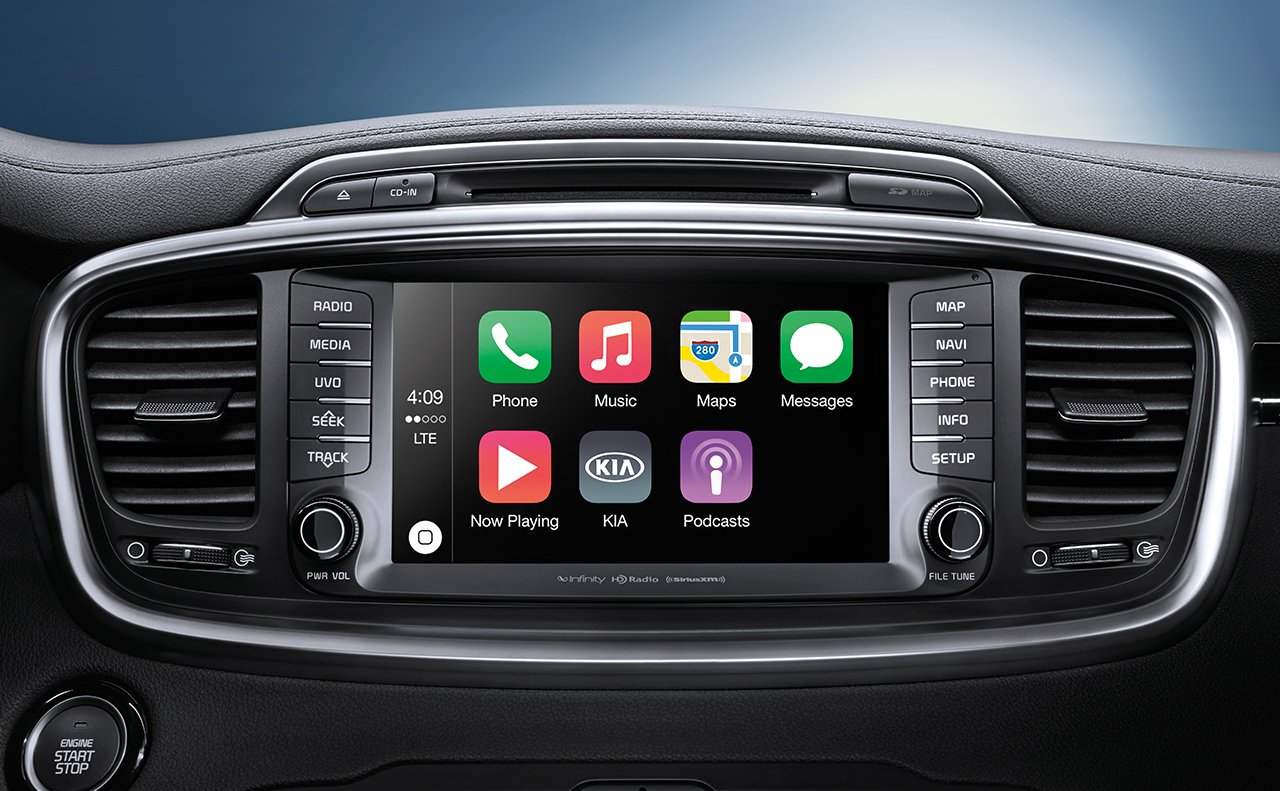 2018 Sorento With Apple CarPlay™ Compatibility. Accommodating Interior ...