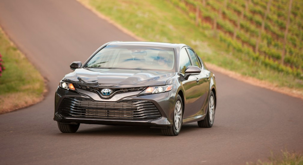 2018 Toyota Camry Hybrid available near Madison