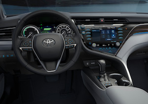 2018 Toyota Camry Hybrid cabin
