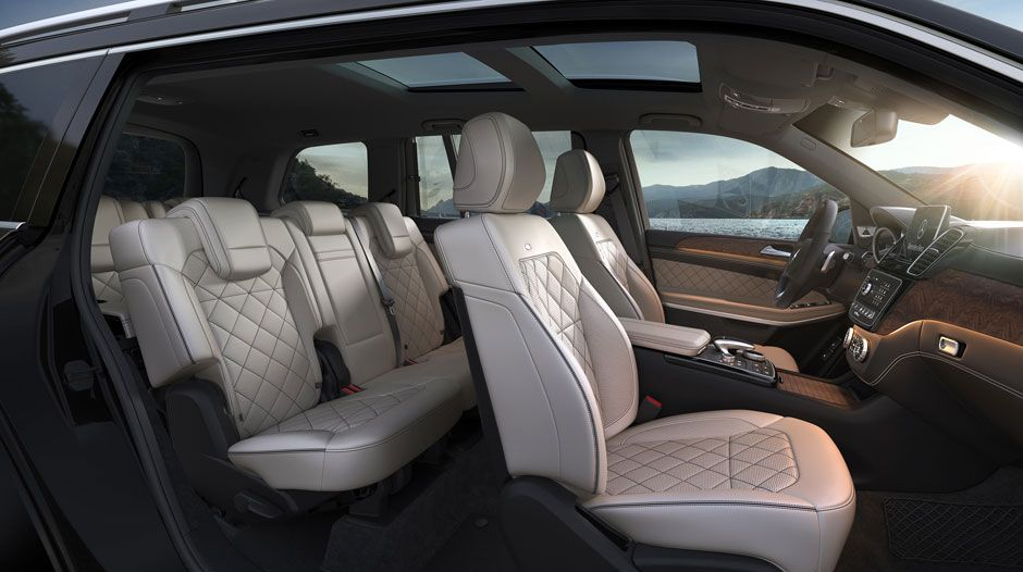 Luxurious Interior of the GLS 450