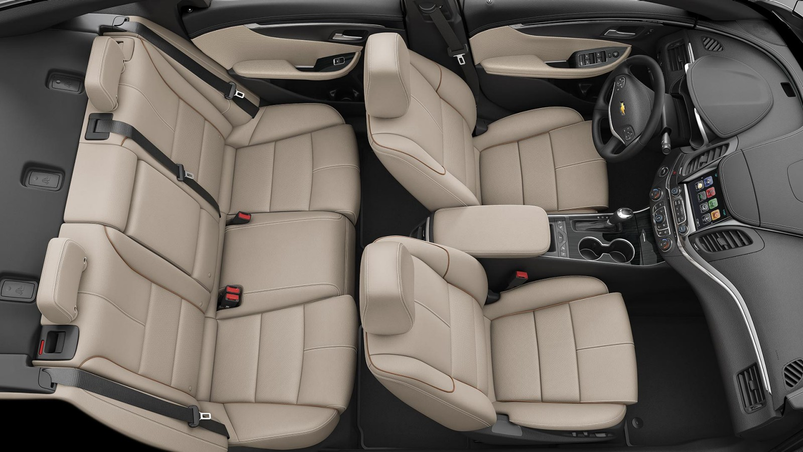 Commodious Interior of the 2018 Impala