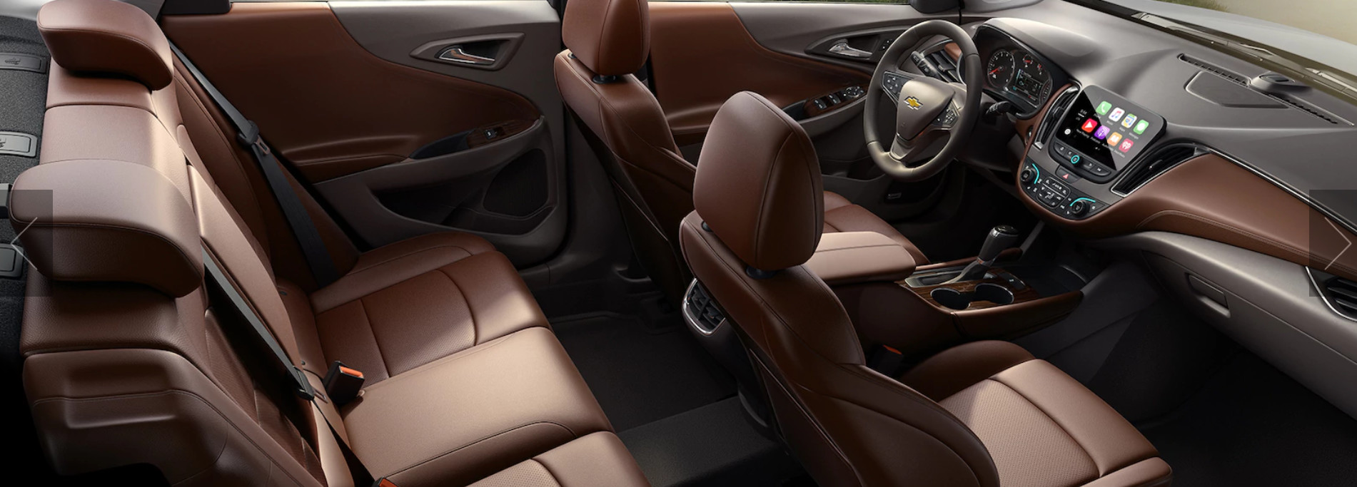 Luxurious Interior of the 2018 Malibu