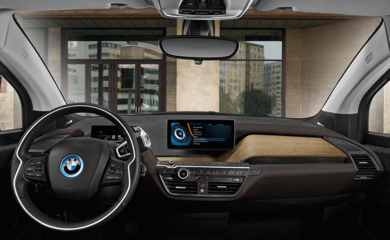 Cabin of the 2017 i3