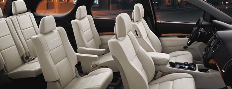 Spacious Seating in the Dodge Durango