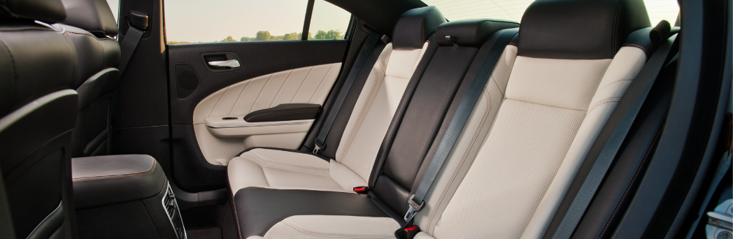 Luxurious Interior of the Dodge Charger AWD