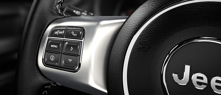 Steering Wheel-Mounted Controls in the Jeep Wrangler