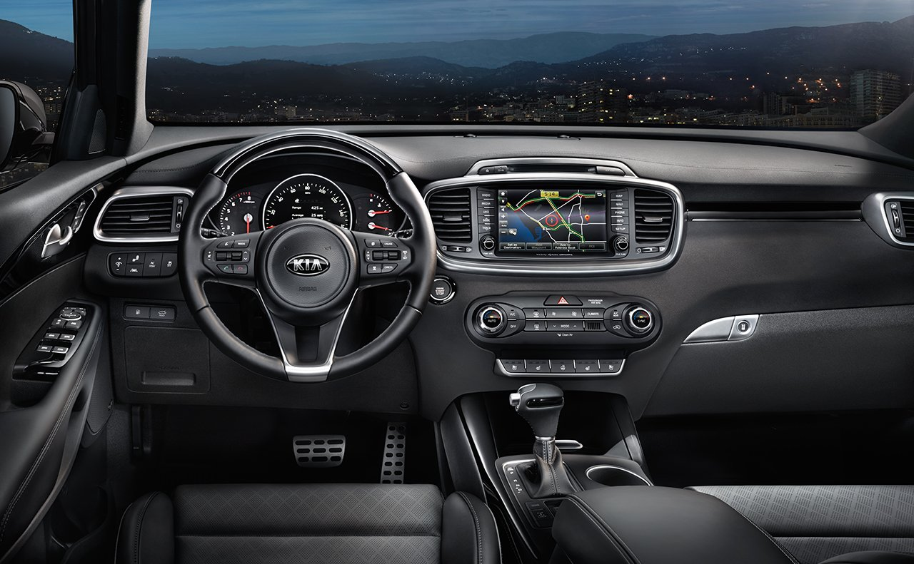 Comfortable and Intuitive Cabin of the Kia Sorento
