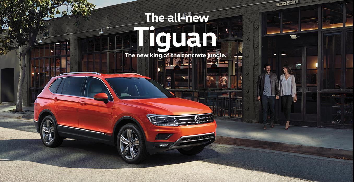 2018 VW Tiguan- Volkswagen Of Tacoma - Volkswagen Of Tacoma