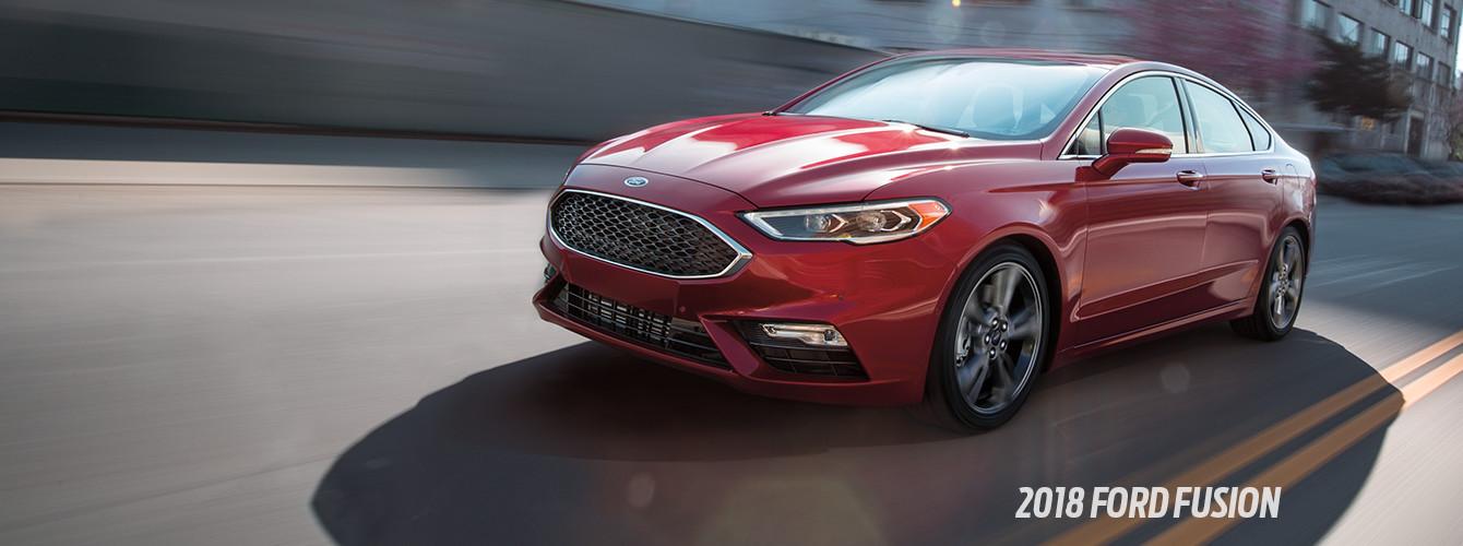 2018 Ford Fusion In Preston