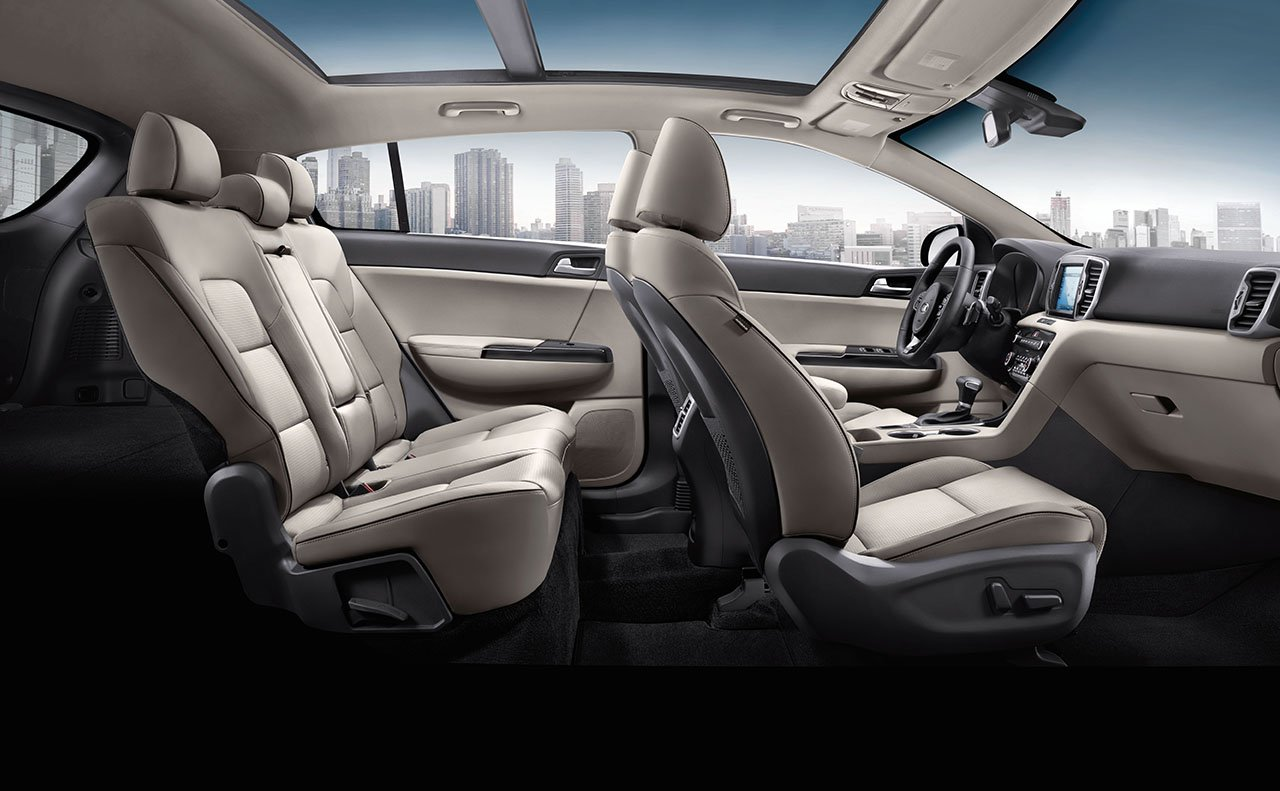 Take Control in the Cabin of the Sportage