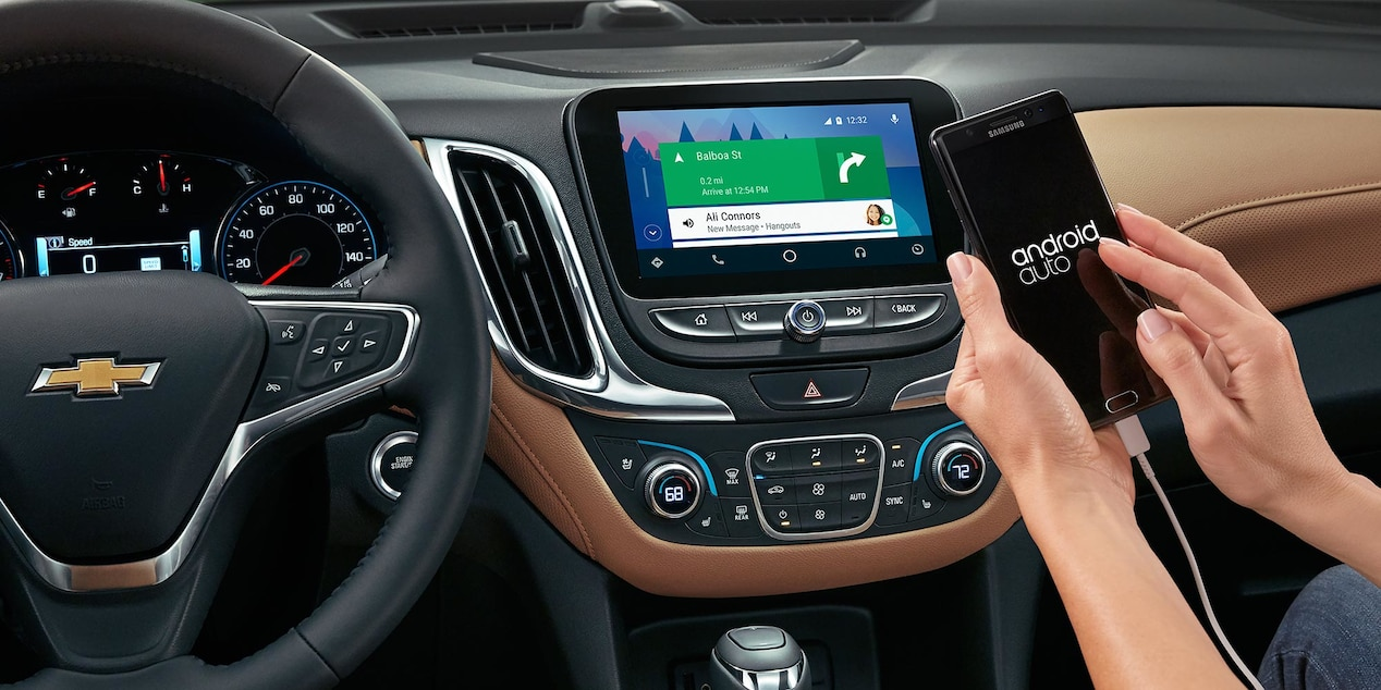 Android Auto™ in the Chevy Equinox
