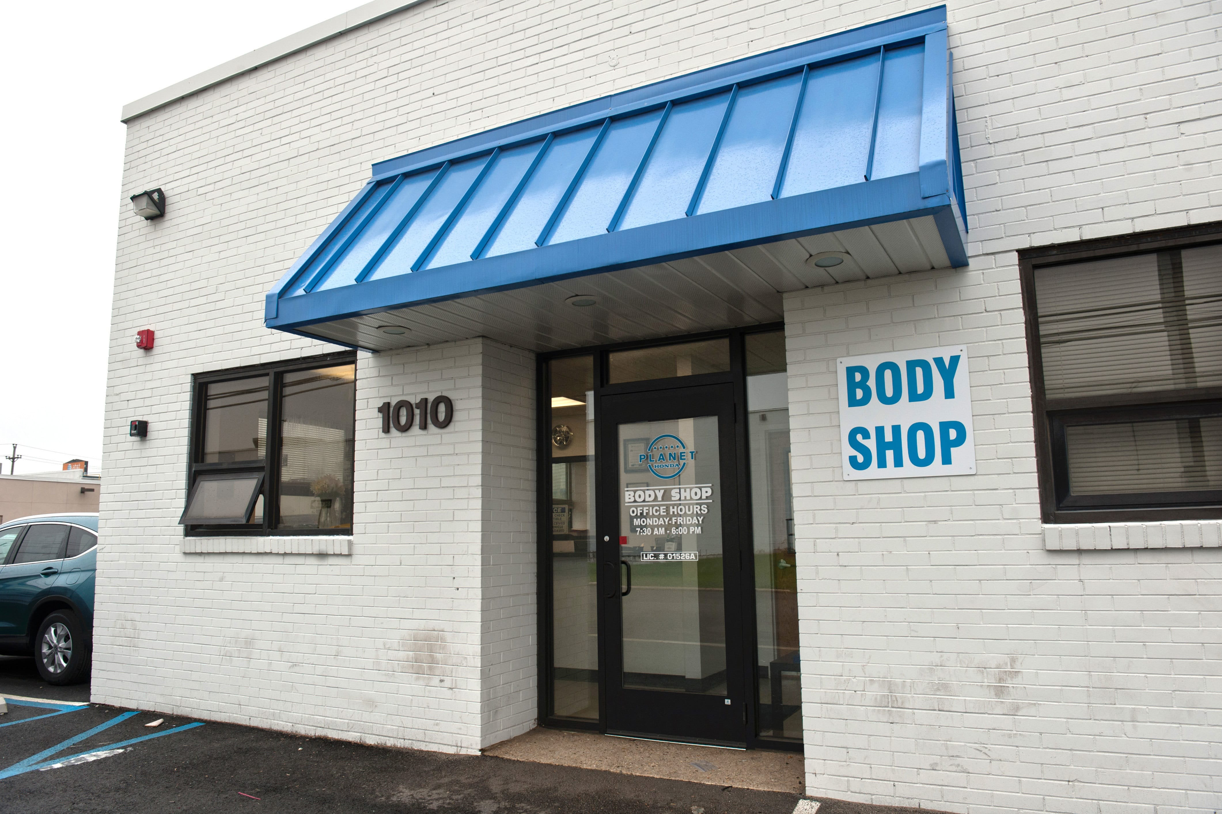 body shop services - planet honda new jersey