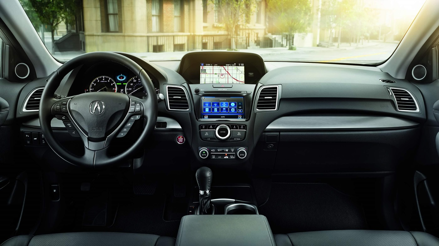 Interior of the 2018 RDX