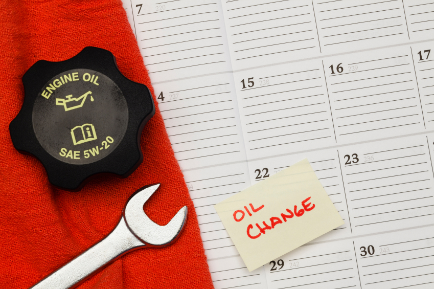 Keep To Your Oil Change Schedule!