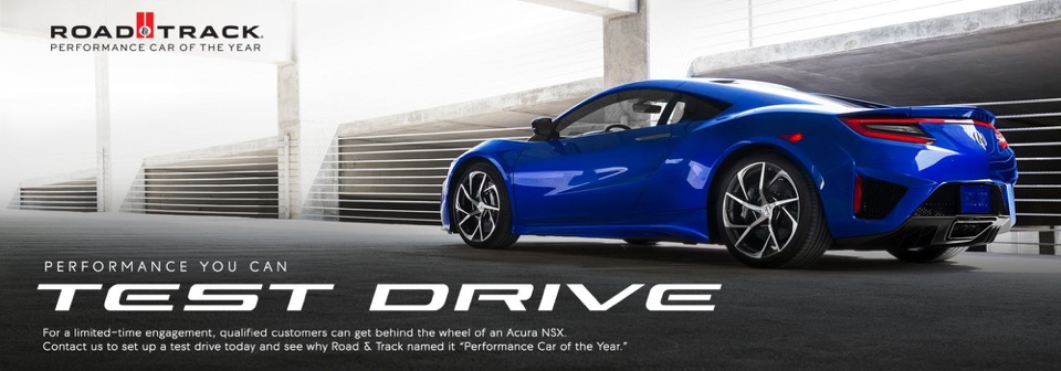 Schedule a New Vehicle Test Drive - McGrath Acura of Morton