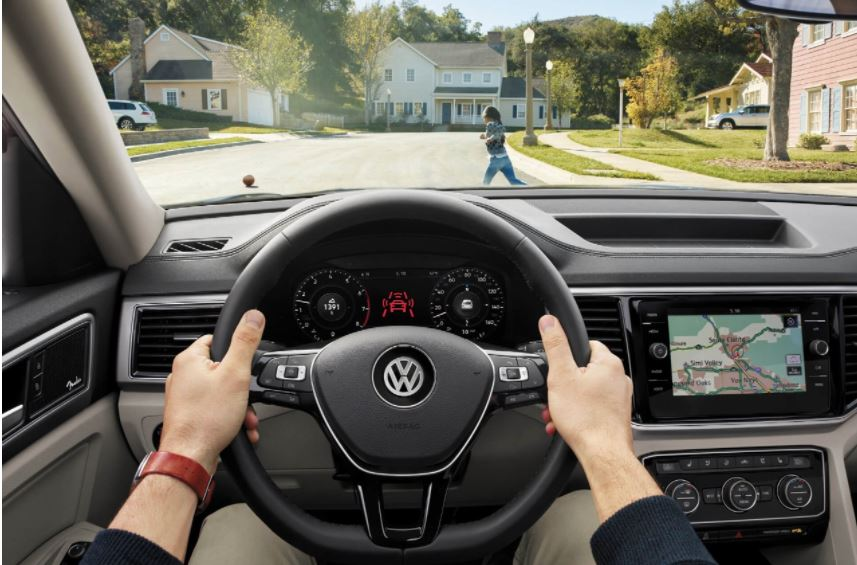 Pedestrian Monitoring System in the VW Atlas