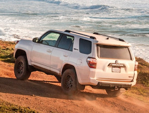 Exterior of the 2018 Toyota 4Runner