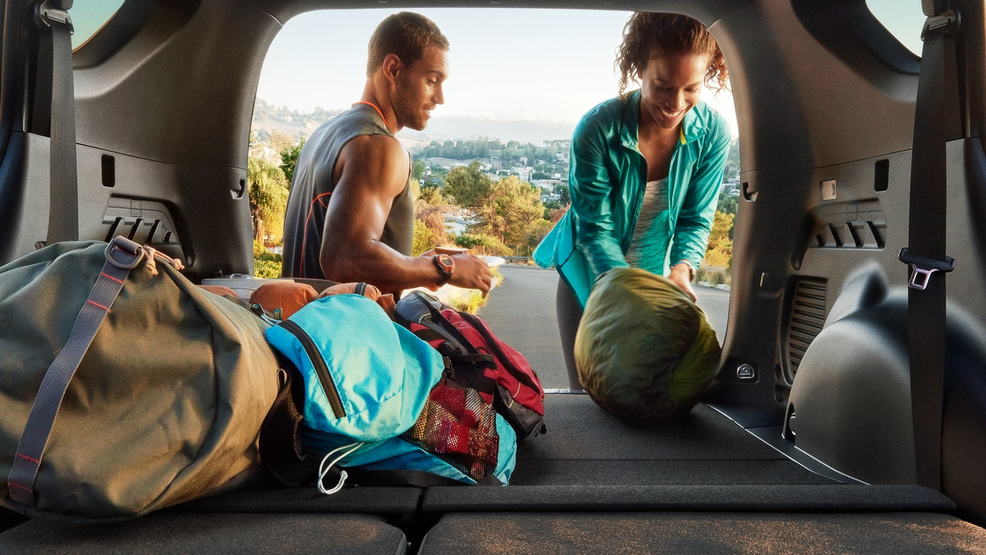 Ample and Versatile Cargo Area of the RAV4 2018