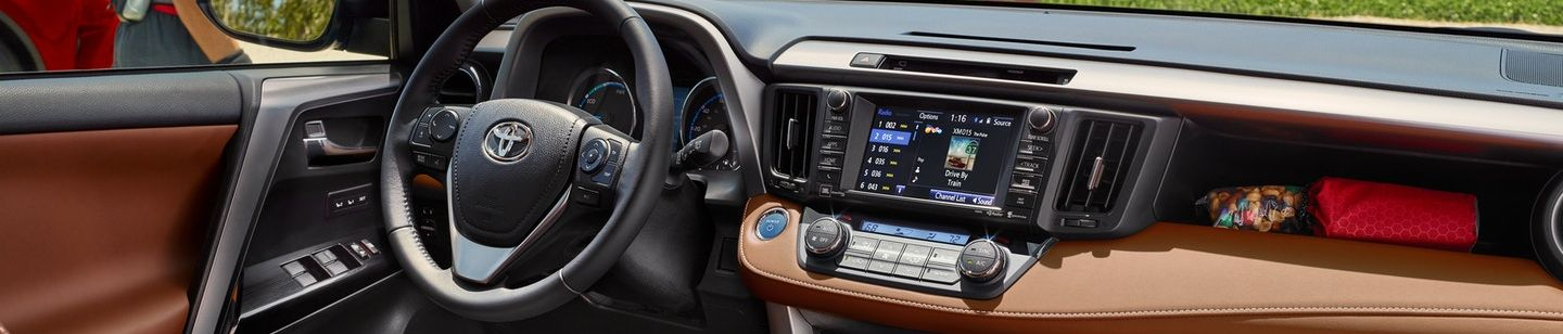 2018 Toyota RAV4 Center Console