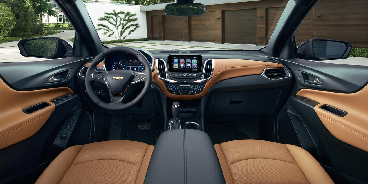 Interior of the 2018 Equinox