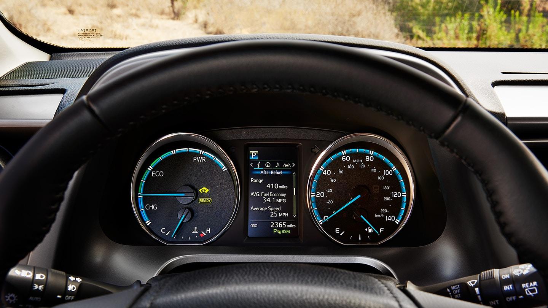 2018 Toyota RAV4 Hybrid Instrument Cluster