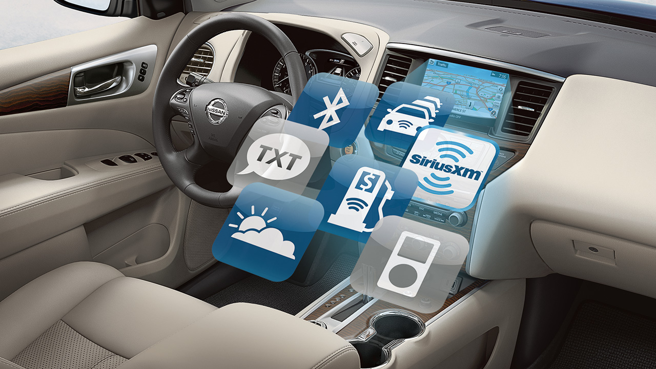All of Your Technology in One Place Inside the Pathfinder!